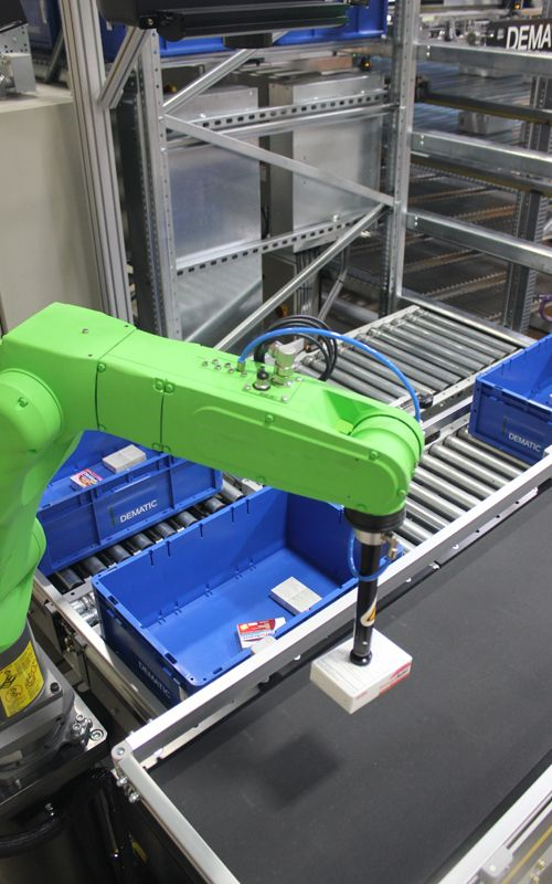 Robotic Systems - Lights-out Order Fulfilment | DEMATIC