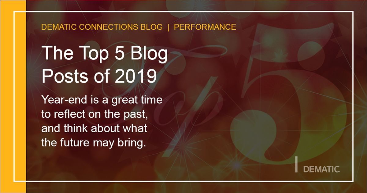 Dematic Connections | Top 5 Blog Posts of 2019