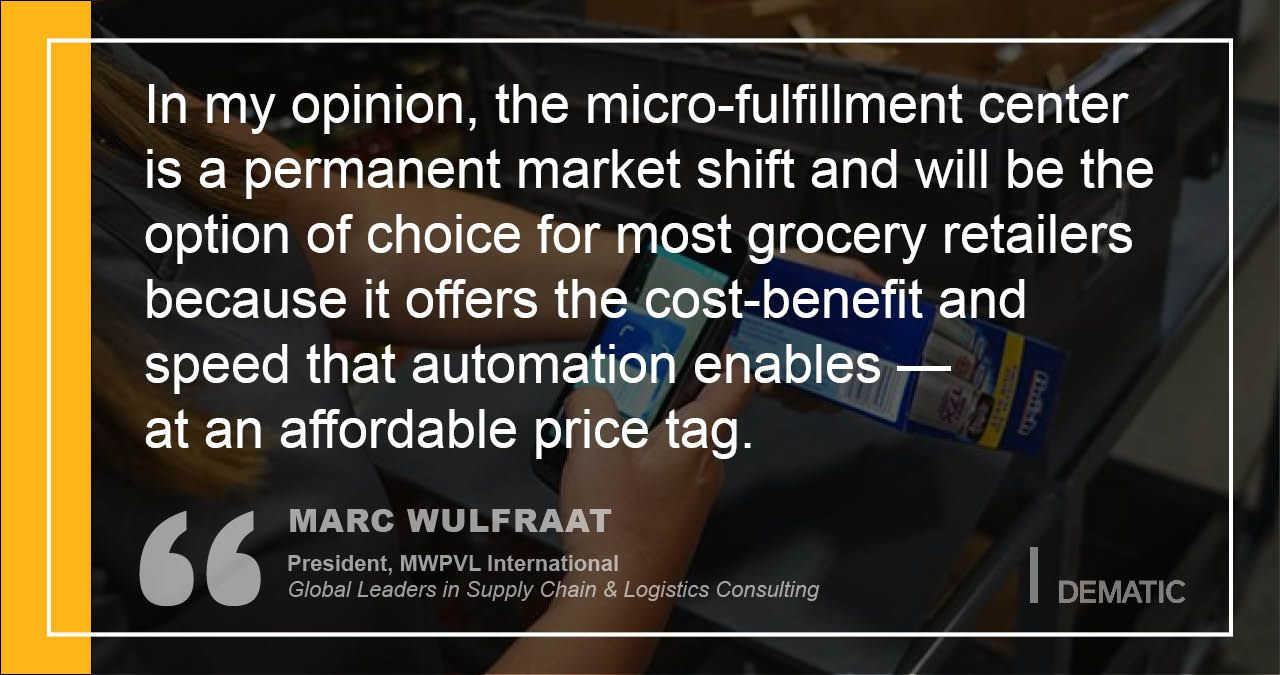 Micro-Fulfillment Market Shift - Dematic blog post summary