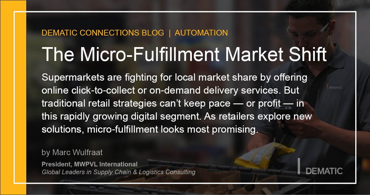 Micro-Fulfillment Market Shift - blog post quote